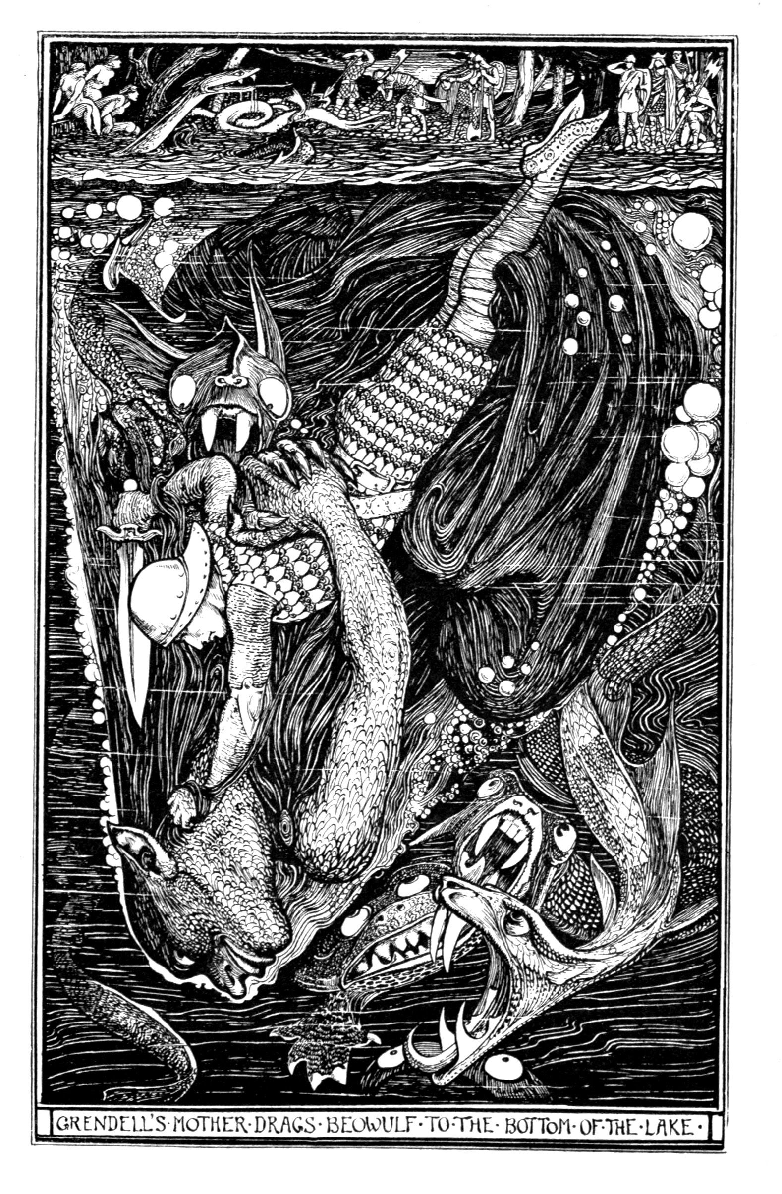 Henry Justice Ford - The red book of animal stories selected and edited by Andrew Lang, 1899 (illustration 7)