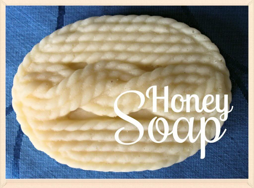 Recipe for honey soap