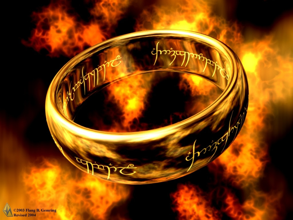 Lord Of The Rings Ring Wallpaper 1024x768 5558