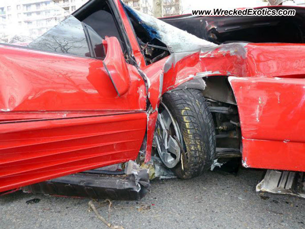 1995 Ferrari 348 vs Tree-Almost Everything Autobody