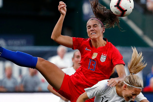 d533d6755 US soccer star Alex Morgan plans to decline any White House invite after  World Cup