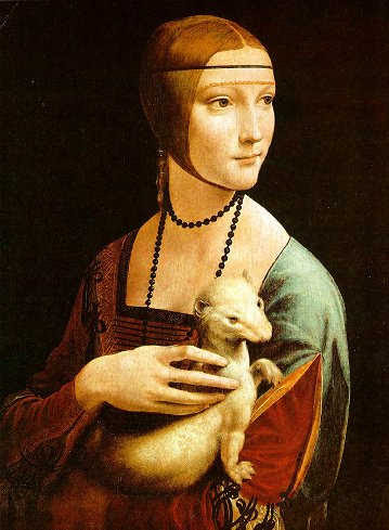 The Lady With the Ermine -- Czartoryski Museum, Cracow