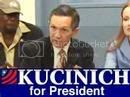 Dennis Kucinich in the Democratic Primary