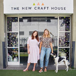 THE NEW CRAFT HOUSE'S SEWING SPACE TOUR
