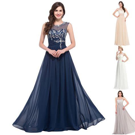 elegant applique formal evening gown wedding guest