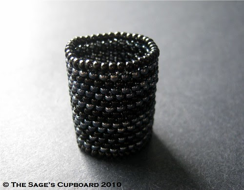 Night Fever Ring by The Sage's Cupboard