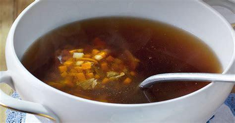 Klare Ochsenschwanzsuppe Rezept   Küchengötter