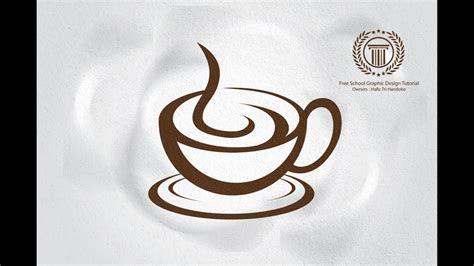 professional coffee cafe shop logo design