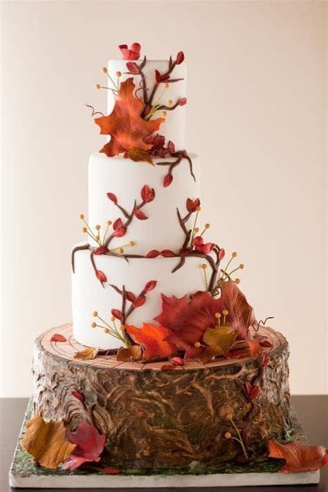 Fall in Love with these Gorgeous Autumn Inspired Cake Designs!
