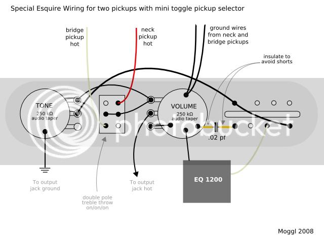 Esquire Wiring Schematic