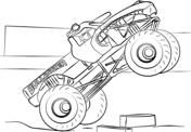 Ausmalbilder Monster Truck Malvorlagen Kostenlos Zum Ausdrucken