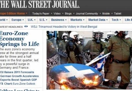 WSJ: 3 + 1 δρόμοι για την Ελλάδα