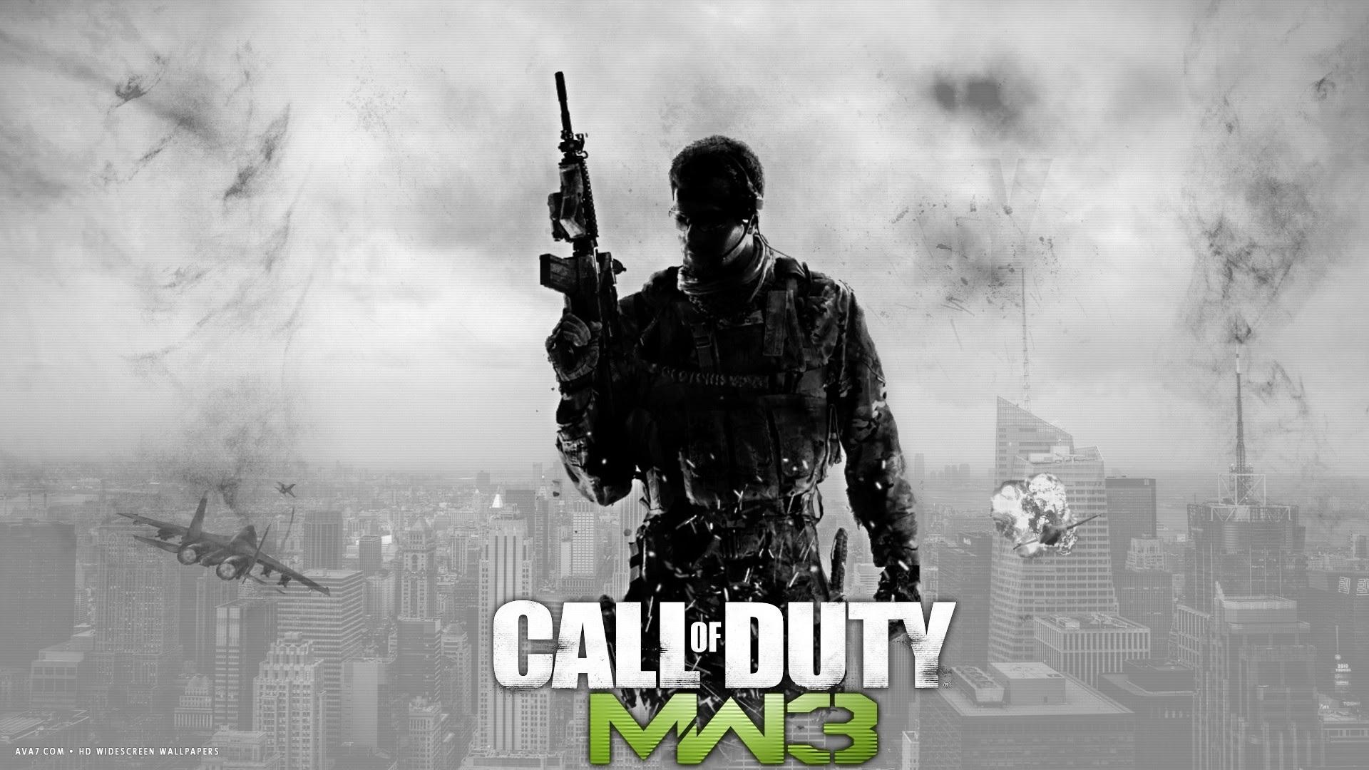 Call Of Duty Modern Warfare 3 Game Mw3 Hd Widescreen Wallpaper