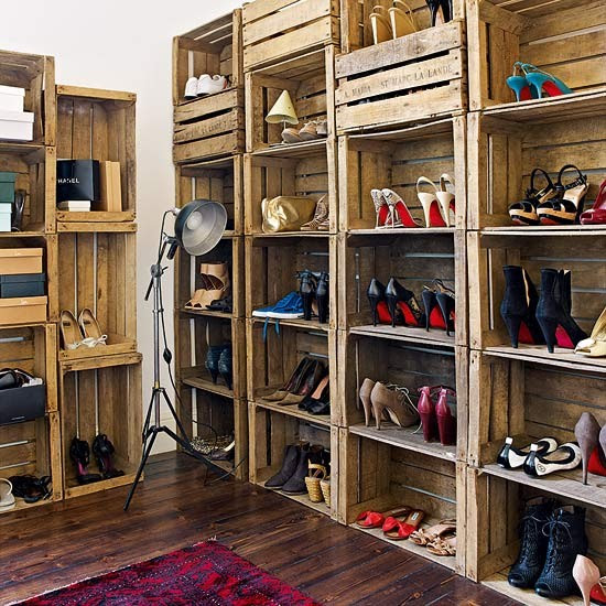 Shoe storage | Take a tour around a London home filled with antique treasures | House tour | Livingetc | PHOTO GALLERY
