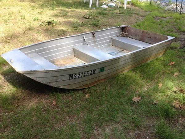 Aluminum Boats On Craigslist ~ Making Boat Plans