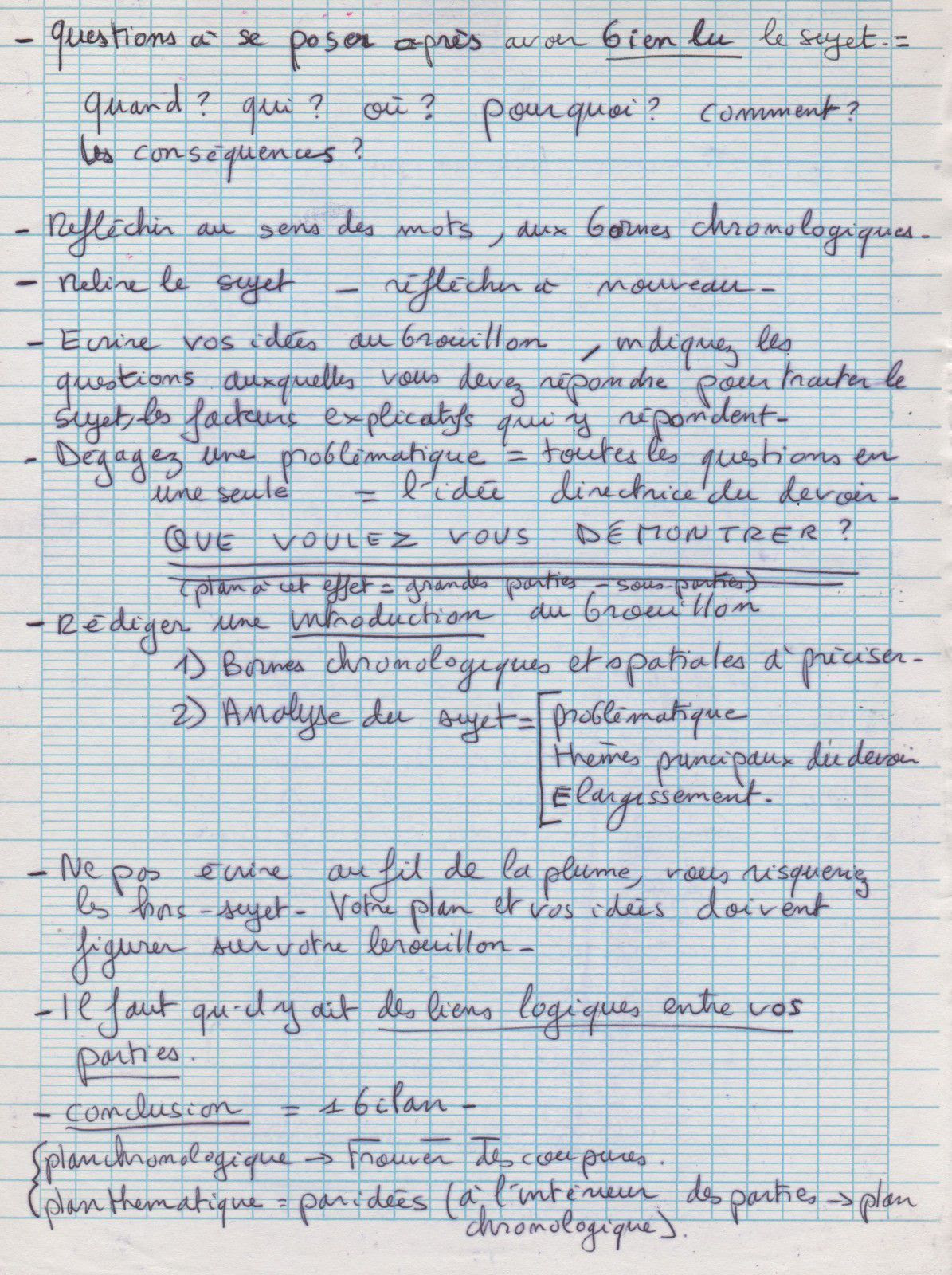 Dissertation guerre froide terminale s