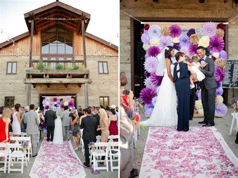 Purple Vineyard Wedding: Tomel   Lenin   Green Wedding