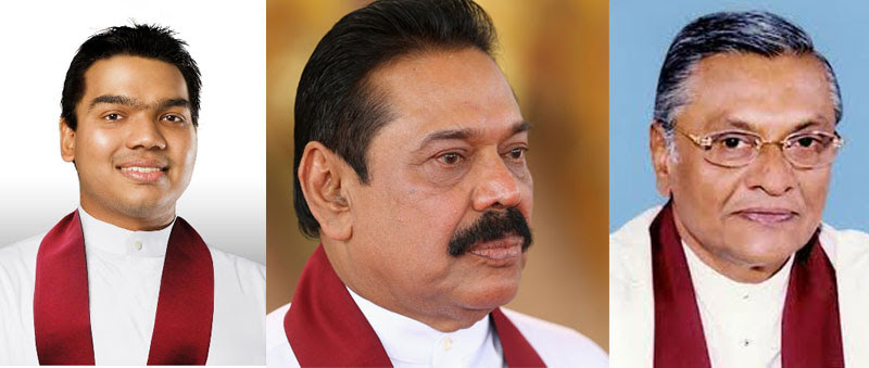 RAJAPAKSA'S ABSENT, FAIL TO RESPOND