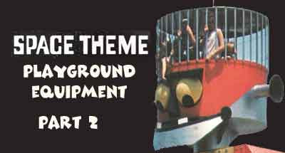 space theme playground equipment