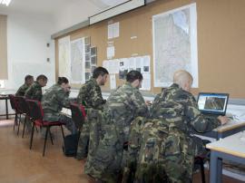"""Ejercicio """"ISTAR Lince"""" I, en el Cuartel General de Fuerzas Pesadas."""