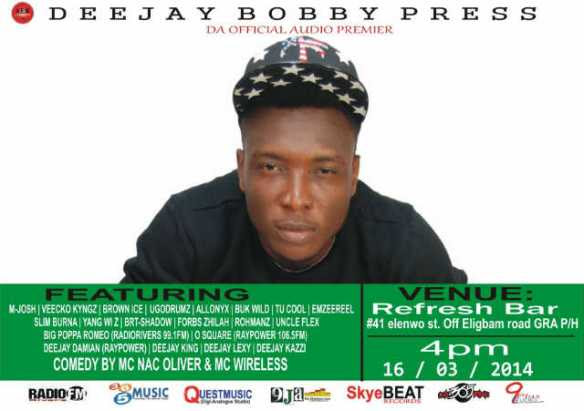 The Official Audio Premier of DJ BOBBY PRESS