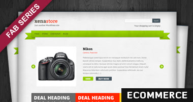 Xenastore Free WP Theme
