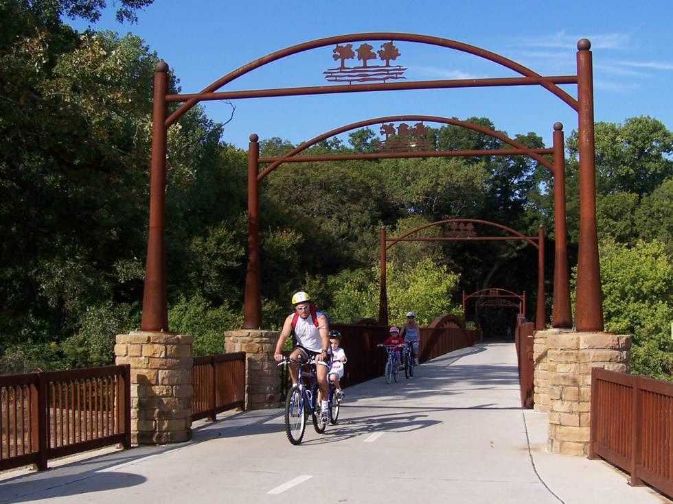 River Legacy Park, em Arlington.