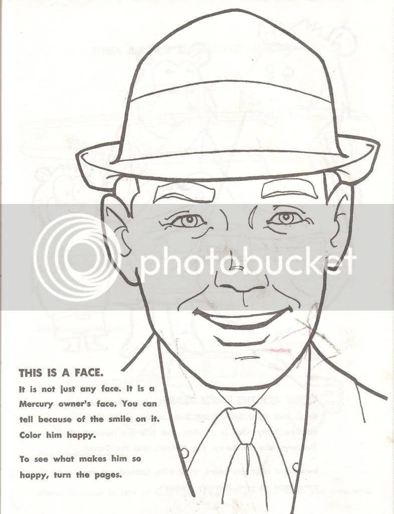 uncle atom  1963 mercury coloring book