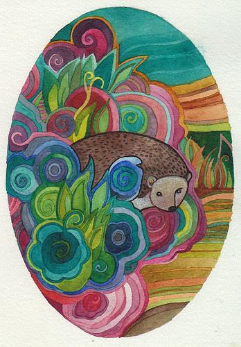 Hedgehog by megan_n_smith_99
