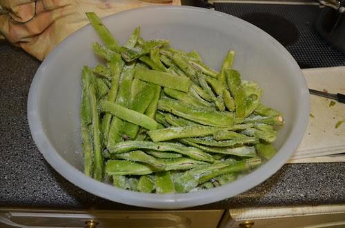 pickled runner beans Oct 13 1