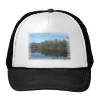 Glassy Appalachian Lake Mesh Hat