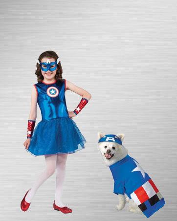 Captain America Costumes Halloween Costumes Buycostumescom