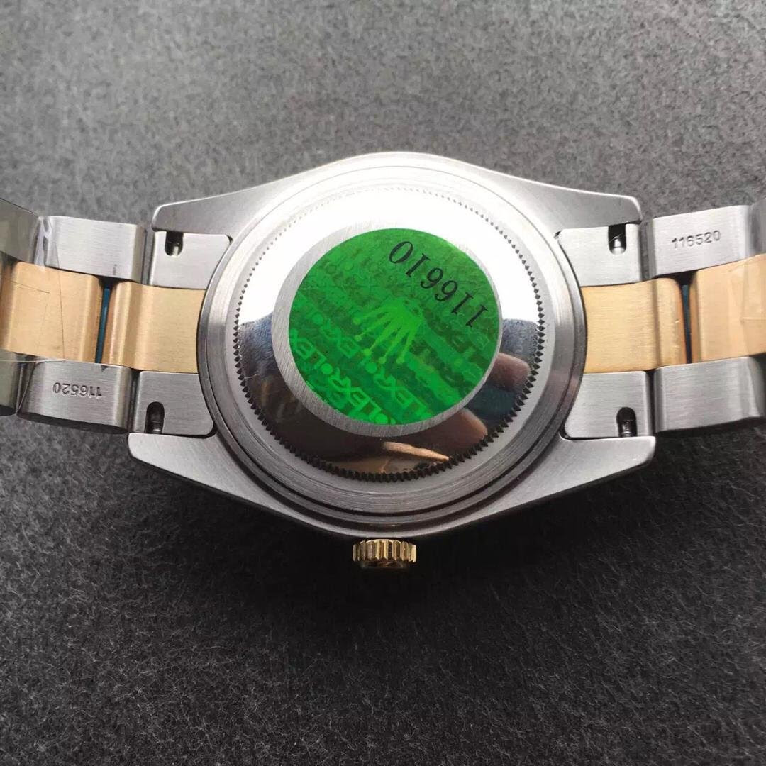 Rolex 116333 Back with Green Sticker