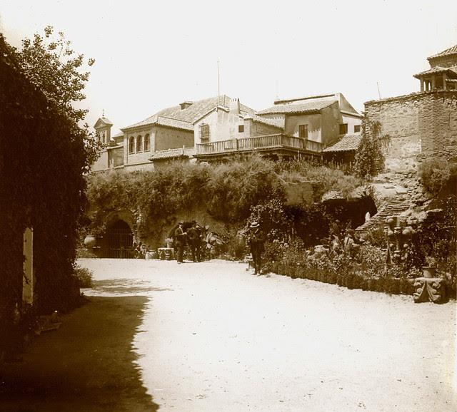 Museo del Greco en 1916. Fotografía de Luis Calandre Ibáñez