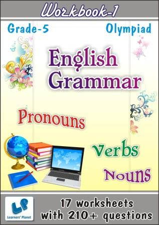 Class 5 Printable Worksheets On English Grammar For Olympiad