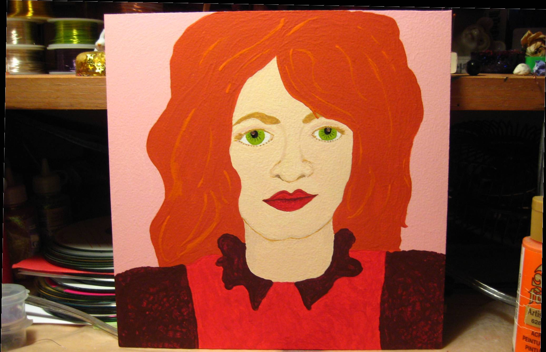 The redhead I painted this
