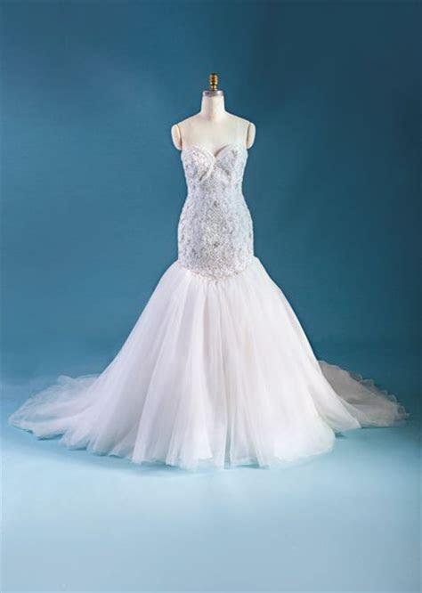 Ariel inspired wedding dress from 2015 Disney's Fairy Tale