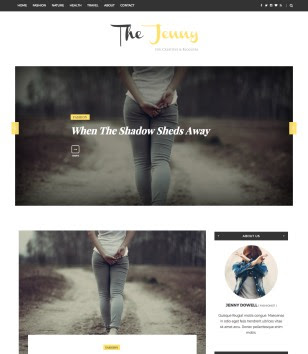 The Jenny Blogger Templates