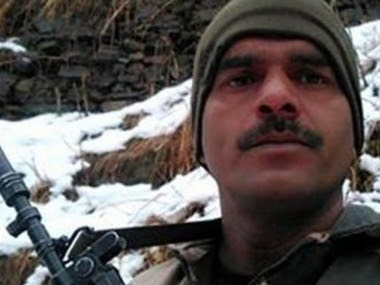 File image of Tej Bahadur Yadav. News18