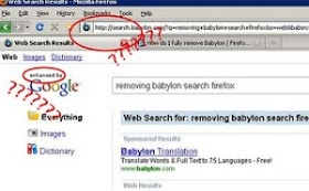 CARA MENGHAPUS BABYLON SEARCH ENGINE PADA BROWSER FIREFOX