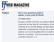 L'editoriale di Rossi sul sito  di FareFuturo