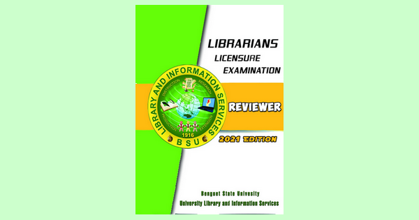 FREE Librarian Licensure Exam reviewer from Benguet State University