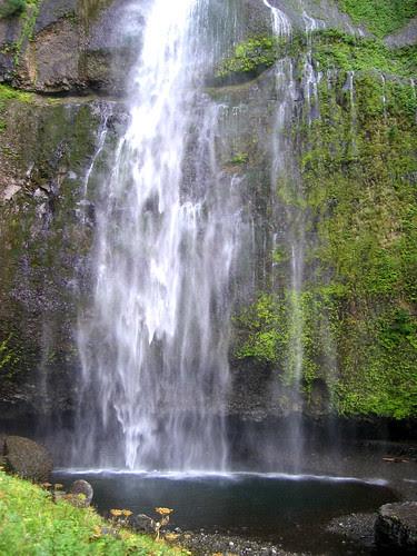 Multnomah Falls Pool