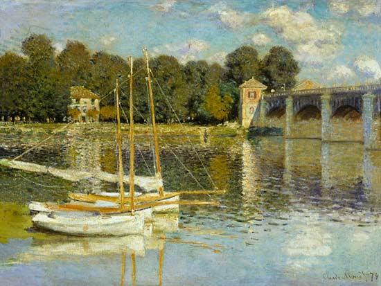 Claude Monet - Puente de Argenteuil