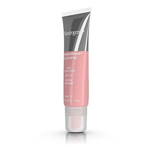 Neutrogena moistureshine lip soother, glow - 2 ea