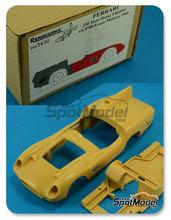 Maqueta de coche 1/24 Renaissance Models - Ferrari 250 TRI 60/61 0780 - Modena tests 1960 - 1961 - kit multimaterial