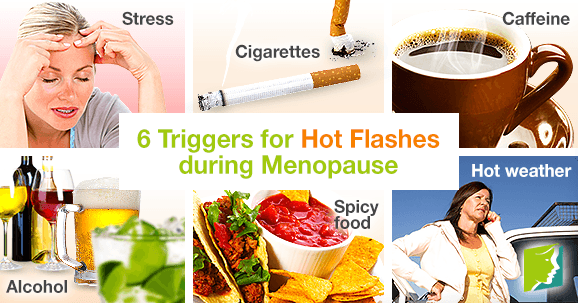 6 Triggers for Hot Flashes during Menopause