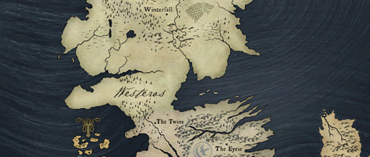 game of thrones map of westeros. Game of Thrones map