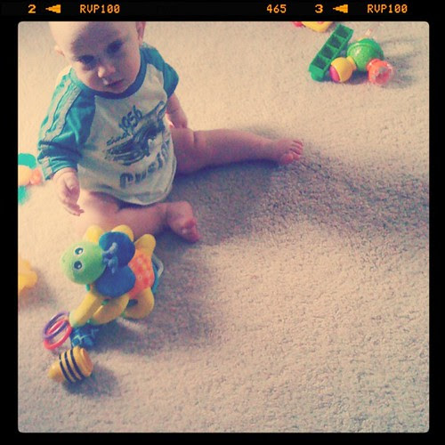 trashing the house with his 2yo brother - yay for partners in PLAY #incourage