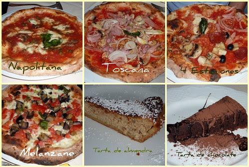 Cena en Pizzeria Viccolo del Carmine